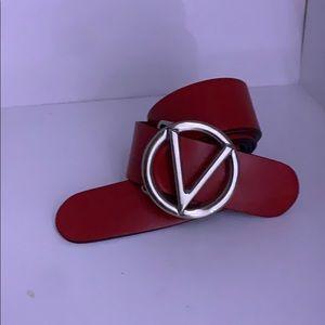 red valentino belt